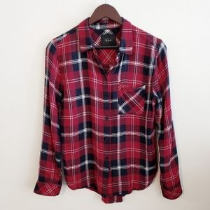 Rails Aly Flannel Shirt in Cranberry Navy